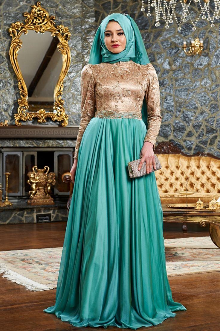 46 best Abiye images on Pinterest | Dress muslimah, Hijab bride and ...