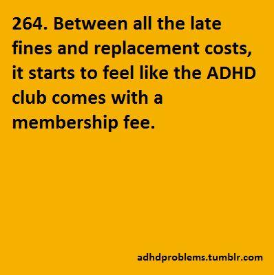 ADHD Problems
