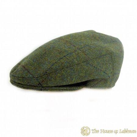Bespoke Scottish keepers tweed flat cap made to order online shopping