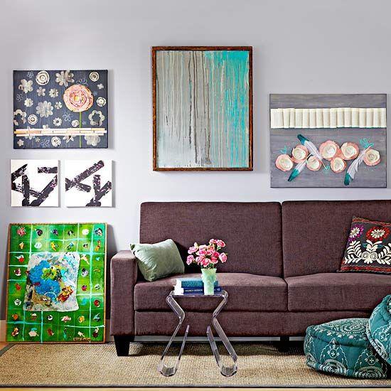 Wall Art Canvas Diy : Easy canvas wall art projects