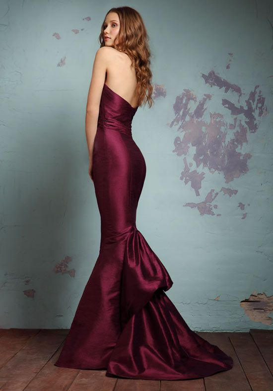 wine color bridesmaid dress bridesmaid maid of honor With wine color dress for wedding