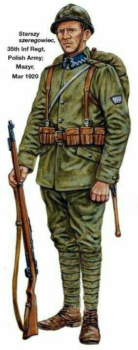 Polish Army 1920, pin by Paolo Marzioli