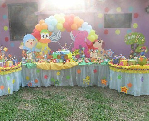 Pocoyo Party - so many ideas in this pic