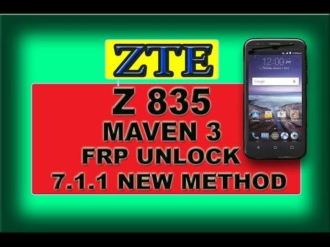 frp android 7.1.1 zte