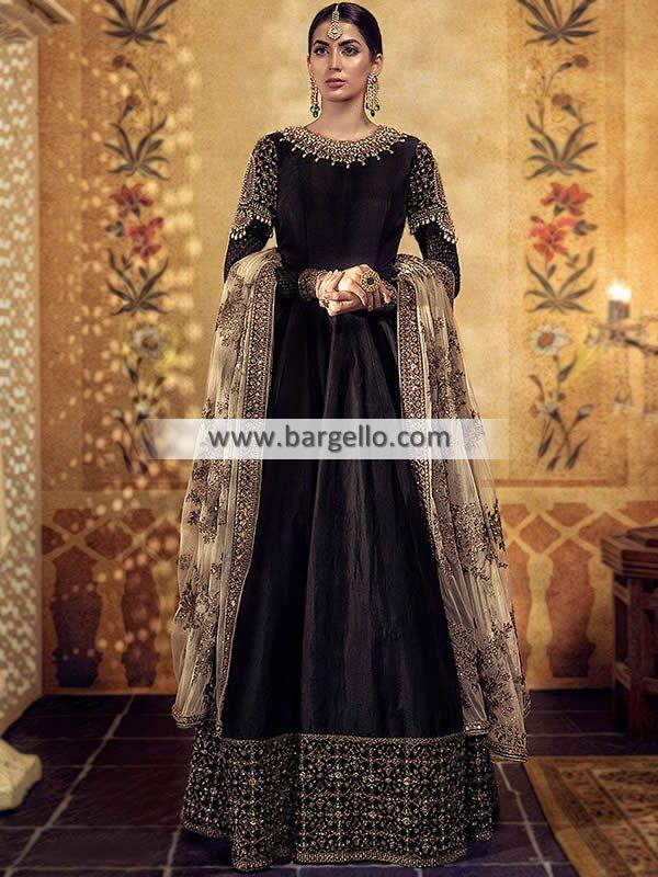 98c986da5e D6845 - Latest Bridal Maxi Style Anarkali - For order & Inquiry: New York  U.S.A: 0585 638 3223 London U.K: 0208 123-9630⠀ Manchester U.K:  0161-408-7166⠀ ...
