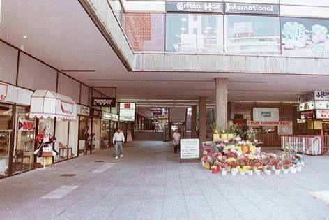 Highpoint, Kotze Street entrance, Hillbrow