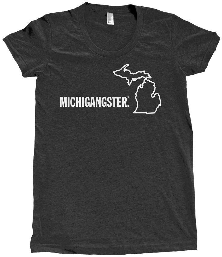Michigangster - Women's Fitted from Michigan Awesome