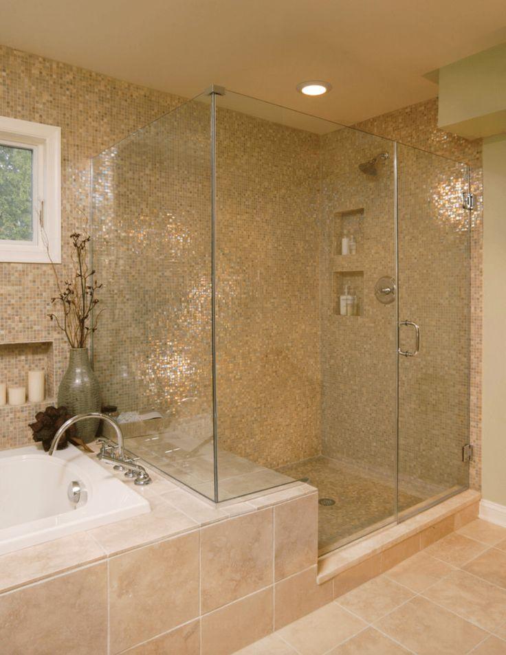oltre 25 fantastiche idee su rivestimento per vasca da bagno su ... - Bagni Mosaico Moderni