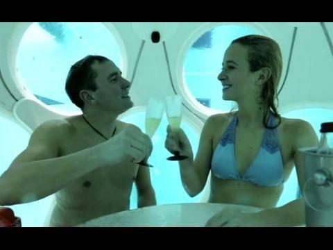 Underwater Restaurant in Belgium Makes a Splash | ABC News