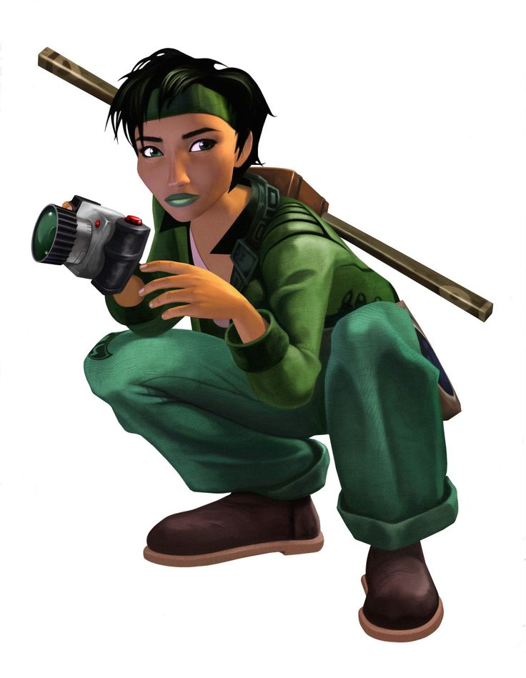 Jade is the protagonist photographer and hero from the 2003 game Beyond Good & Evil. She is widely regarded as one of the best representations of women in all of gaming history. Remarkably she wears pants (that are not painted on) which is somehow extremely rare for women in video games.  Her strengths include  intelligence, bravery, compassion and of course suspicion of government. A squeal is currently in development. #positivefemalecharacters #femaleprotagonists