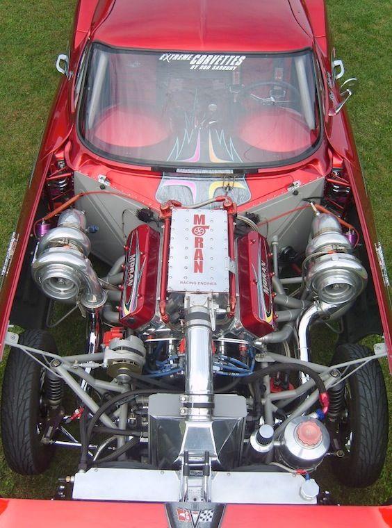 2600 HP Twin Turbo Corvette World's Fastest Street Legal Car