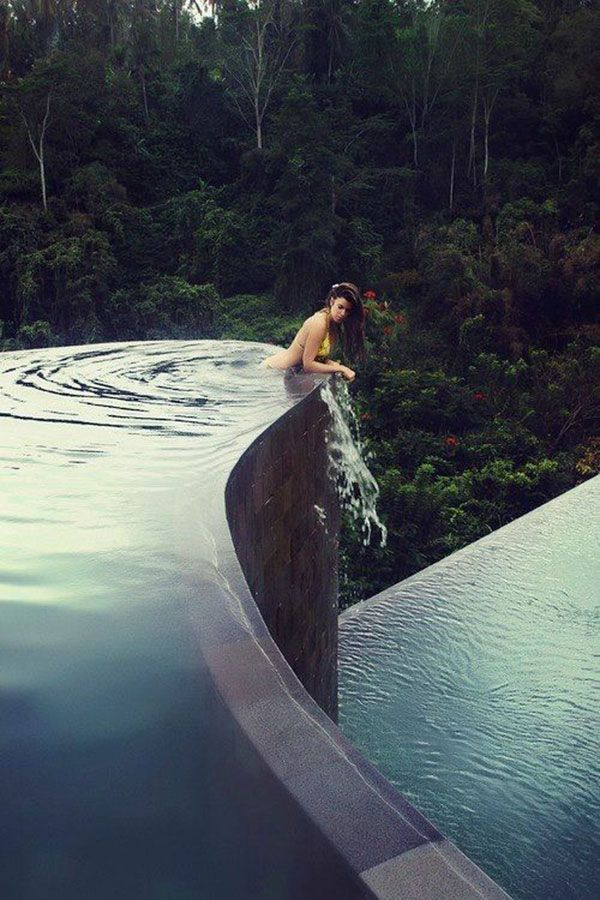 This infinite pool is too perfect. 10 Swimming Pools You Wish You Could Cool Off In