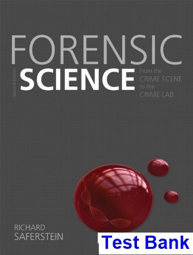 50 best test bank images on pinterest forensic science from the crime scene to the crime lab 2nd edition richard saferstein test bank fandeluxe Image collections