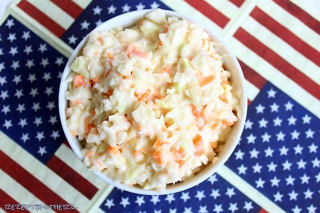 Krautsalat kennt jeder. Aber habt Ihr auch schon mal die  amerikanische Variante, den sogenannten Coleslaw a la Kentucky Fried Chicken , ...