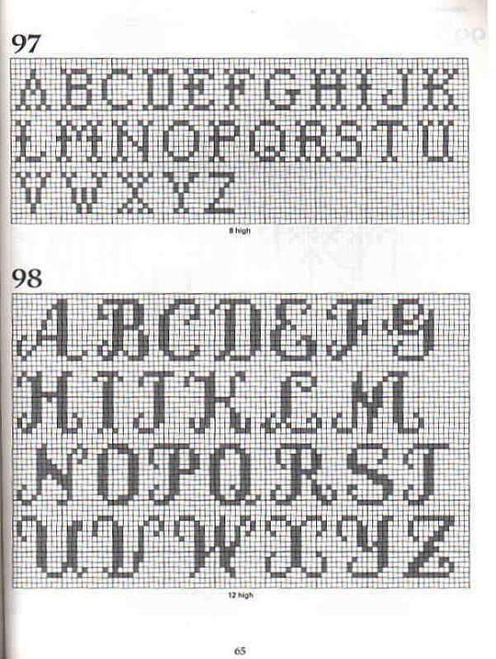 Crochet magazines: 101 filet crochet charts ~ Craft , handmade blog