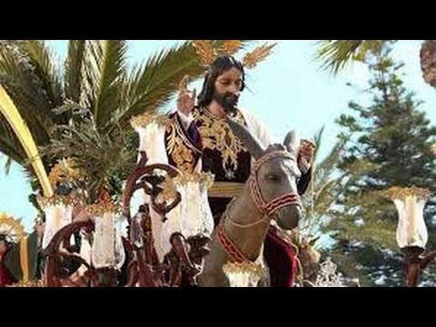Semana Santa Sevilla 2016 / Domingo Ramos Hdad La Borriquita Dos Hermanas - YouTube