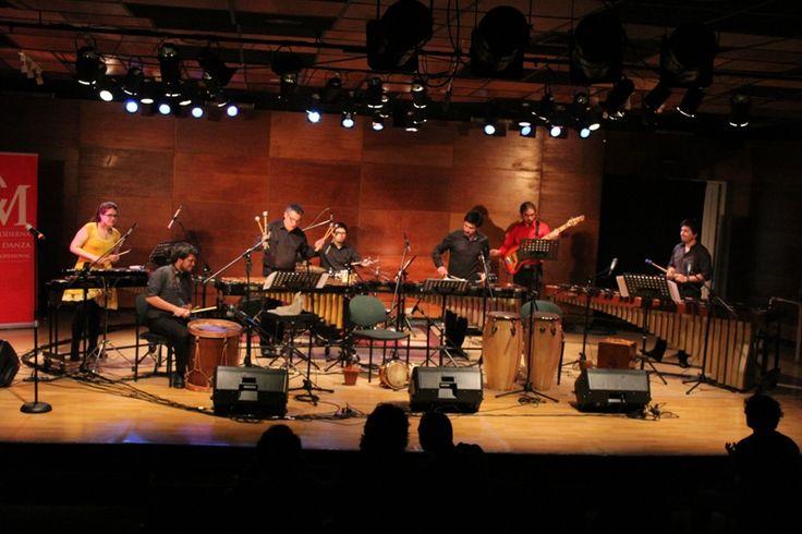 Grupo Percusión UC en Ciclo Grandes Agrupaciones 2015