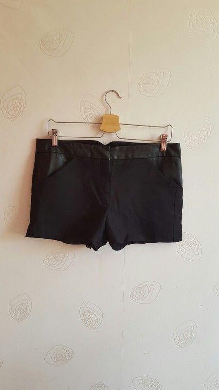 Short noir élégant