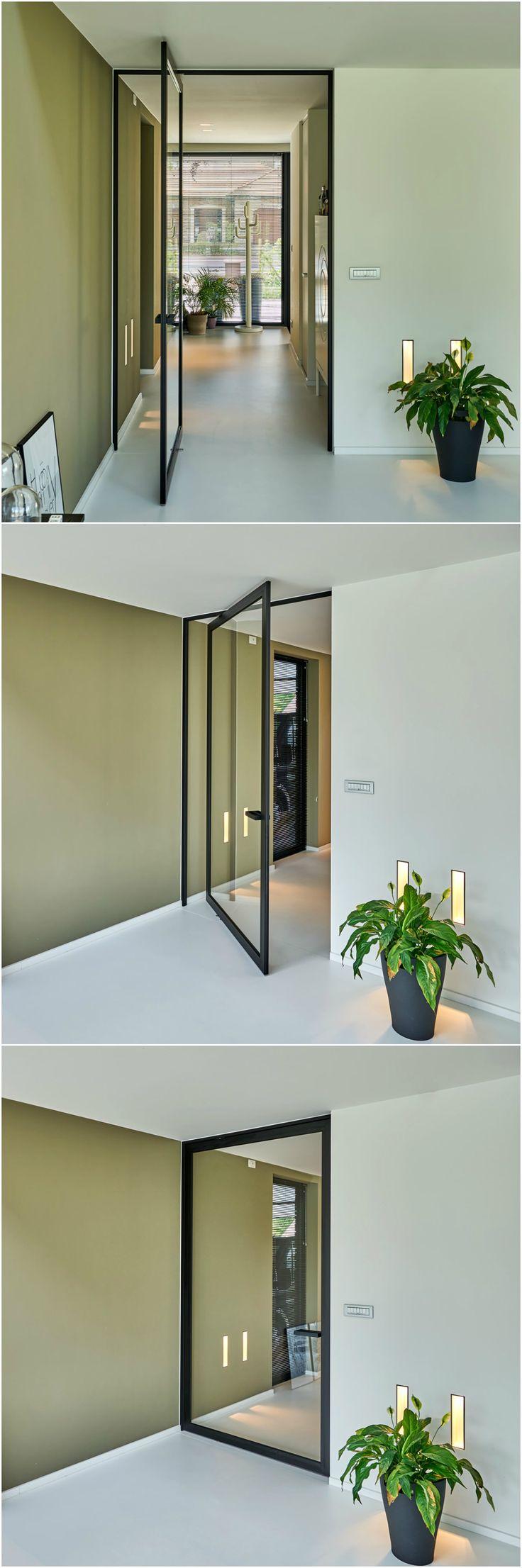 die besten 25 schwarze innent ren ideen auf pinterest schwarze t r schwarze t ren und dunkle. Black Bedroom Furniture Sets. Home Design Ideas
