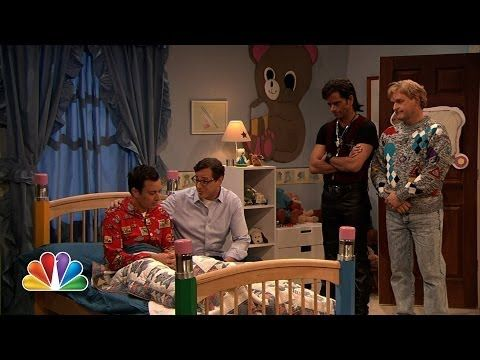 "The Men Of ""Full House"" Reunited To Help Jimmy Fallon With His Nightmares"