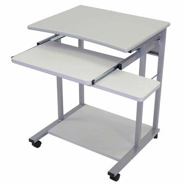 High Quality Luxor LCT29 G Luxor Mobile Computer Desk Gray
