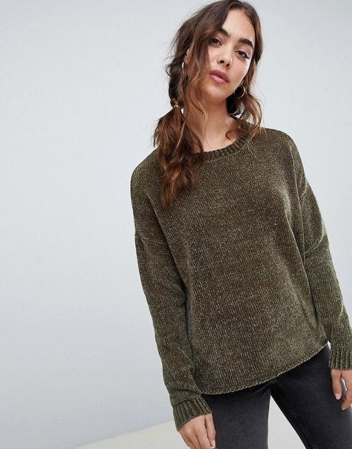 77c753973d7 Vero Moda Chenille Knitted Sweater