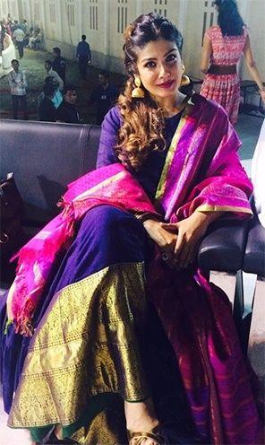 Raveena Tandon's gorgeous Gaurang Shah outfit