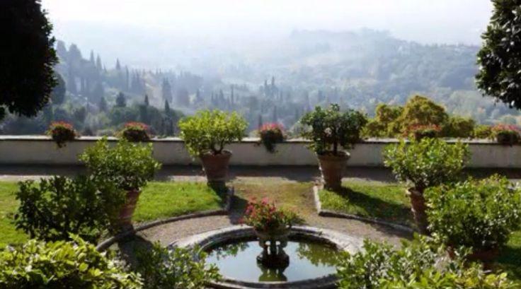 Villa Medici, Fiesole, nr Florence.