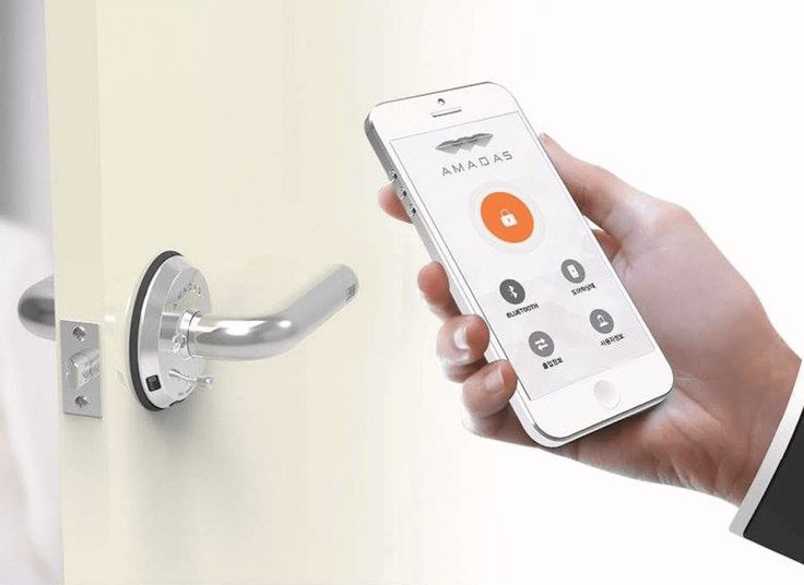With Amadas' new keyless lock, you'll never get locked out again