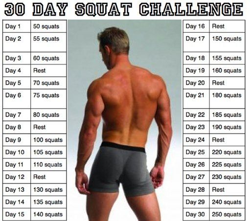 30-day squat challenge #weightloss #diet #fitness