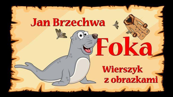 Foka - Jan Brzechwa - wierszyk, bajka, animacja dla dzieci
