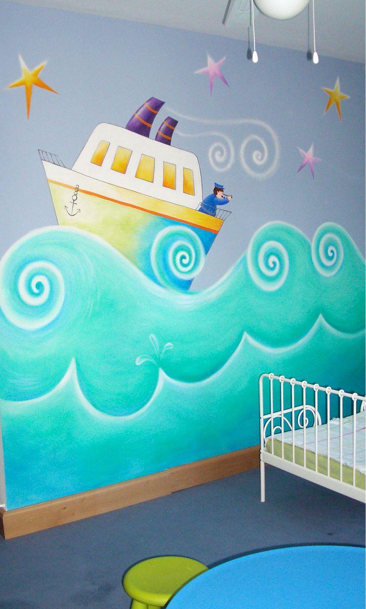 Mejores 45 Im Genes De Murales Infantiles En Pinterest  ~ Murales Decorativos Para Habitaciones De Adultos