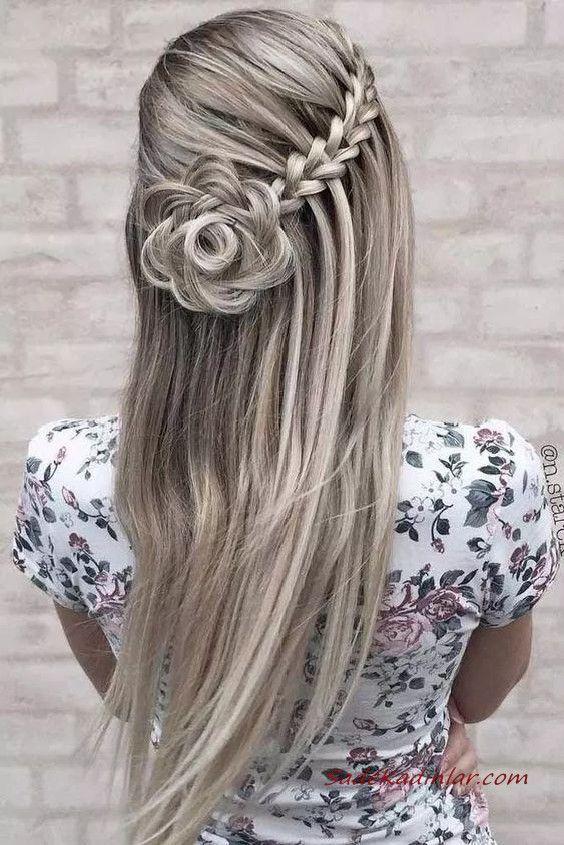 Top 2020 Waterfall Braid Frisuren - #en # beautiful #Models # Braid # Hair # Waterfall