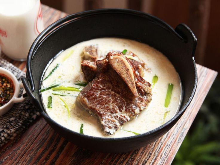 韓國牛骨奶湯