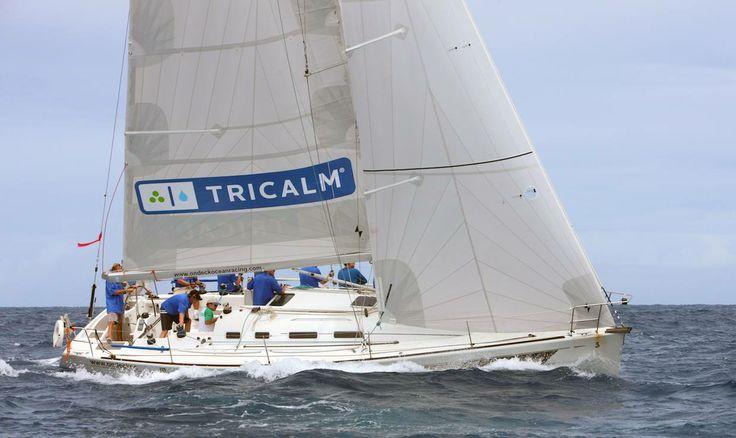 Check out our TriCalm sail in the St.Maarten Heineken Regatta yacht race!
