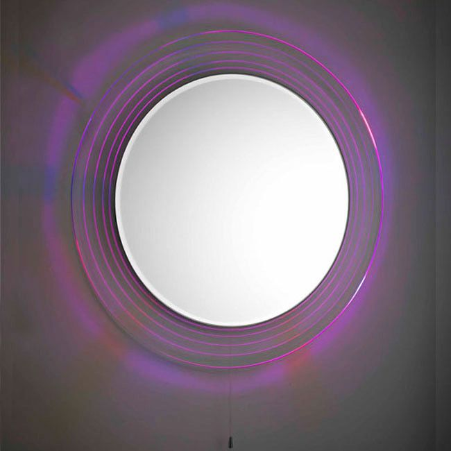 The best way to add colour to your bathroom is with this colour changing mirror!