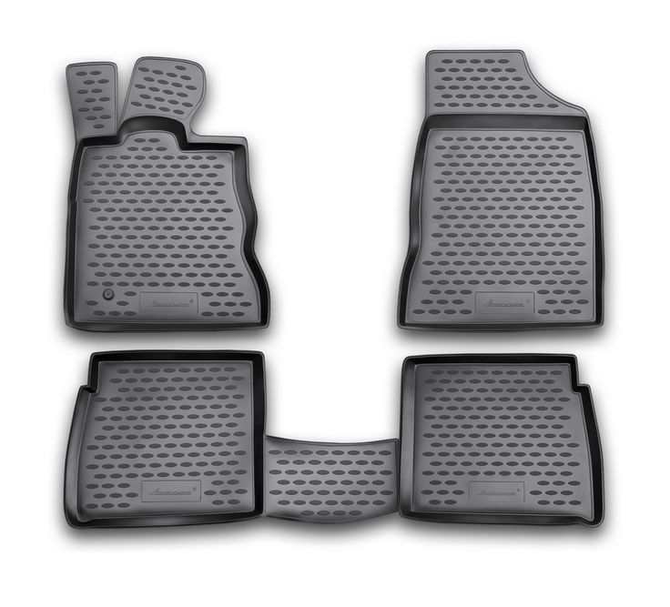 Novline Chrysler PT Cruiser Floor Mats - Molded floor mats from Novline trap mud, snow, water and dirt in your vehicle. Novline floor mats are a custom designed floor liner designed to cover maximum floor space, including the driver's left foot rest to provide you with excellent floor protection. There is no trimming required for fit, as each one is custom molded. Made of flexible polyurethane, for a tight shaped fit and a UV stabilizer to protect against sun damage. The Novline digital…