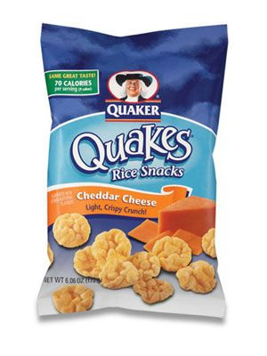 16 Quaker Rice Snacks Cheddar Cheese Quakes  #lowcalorie #smooth #fitness