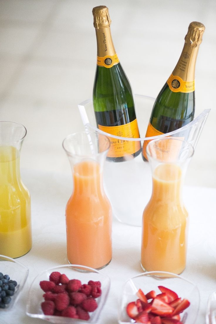 Create a DIY Mimosa Bar with @VeuveClicquot - Fashionable Hostess | Fashionable Hostess