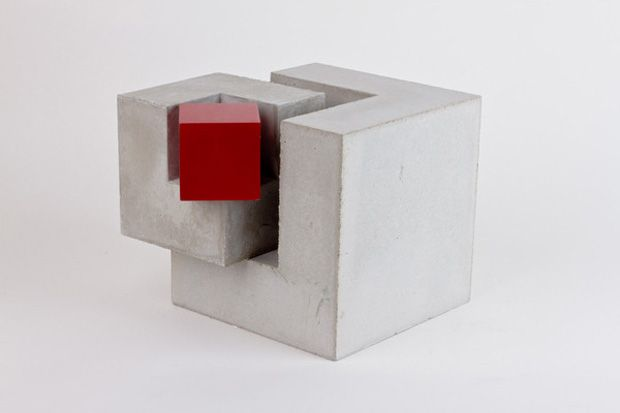 Geometric sculpture by August Salo.  Want my ideas to fit together like this.