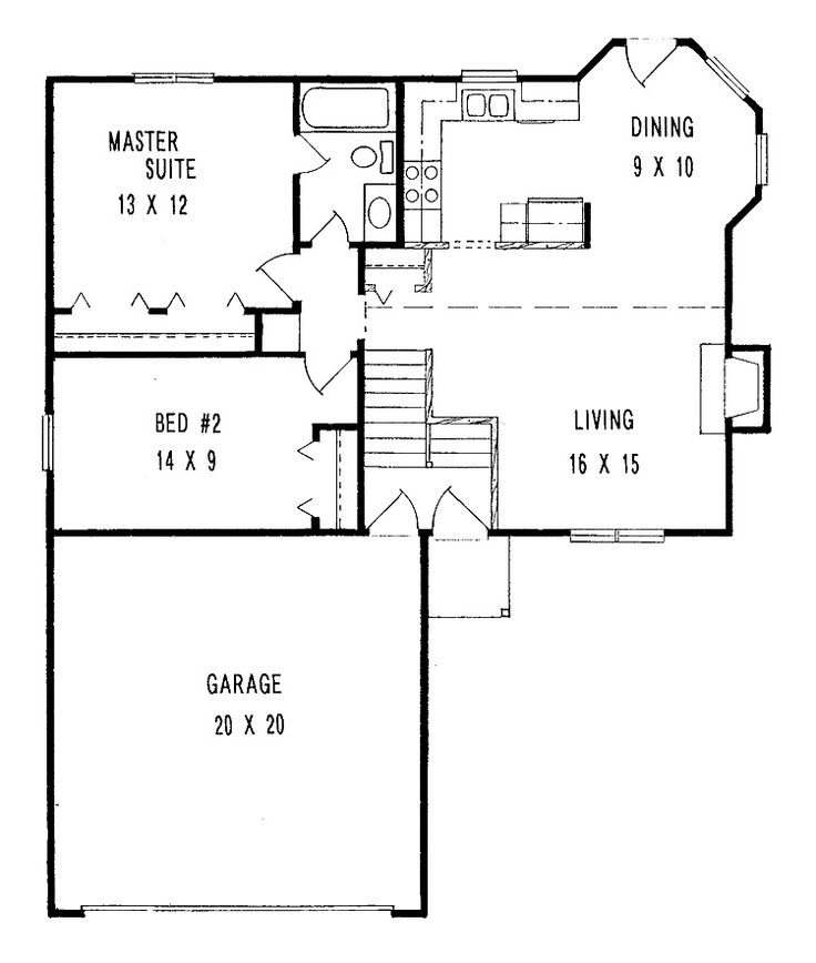 bedroom designs small minimalist two bedroom house plans with large garage floor plan design house blueprint stepinit house plans pinterest - Small House Blueprints 2