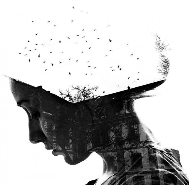 La photographe bulgare Aneta Ivanova laisse entrevoir une douceur délicate dans ses clichés à l'aide de la technique de la double exposition. Corps de femme et milieux extérieurs se confondent et se complètent pour donner une série de photos splendides.