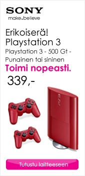 Erikoiserä! Sony Playstation 3. Toimi nopeasti!