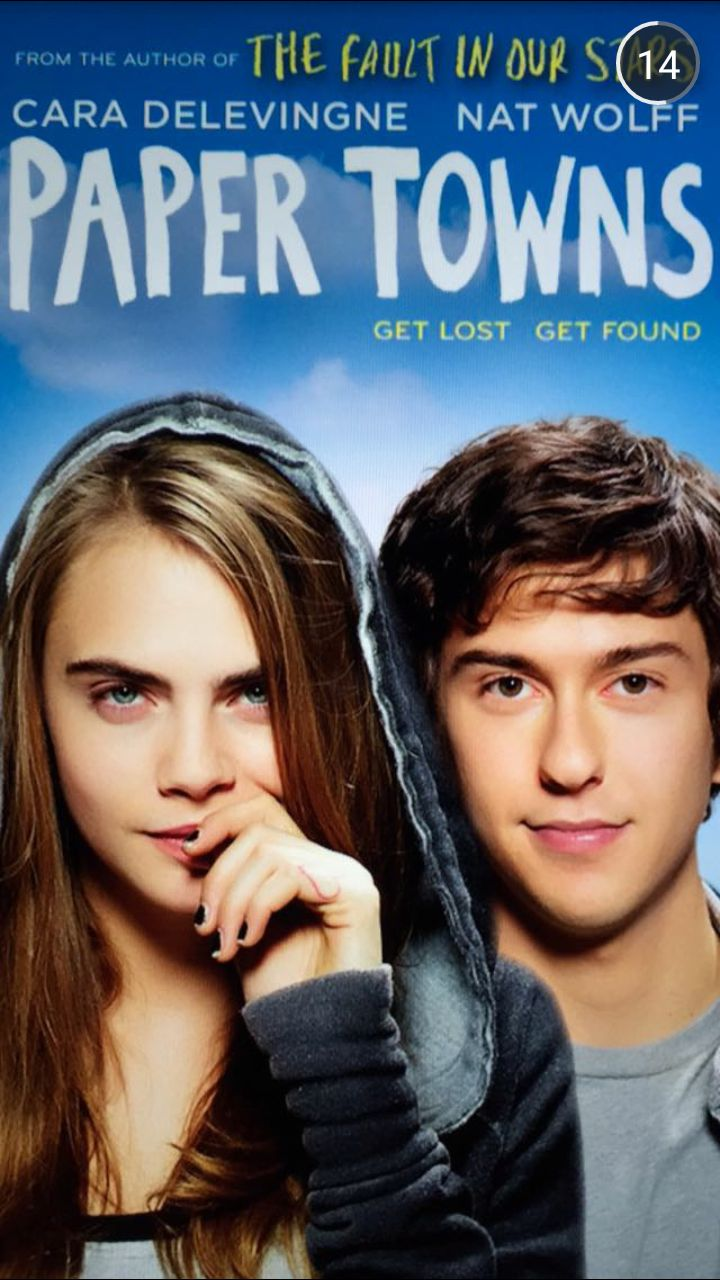 Alternative Paper Towns movie posters Posted on... - sad rotten angel