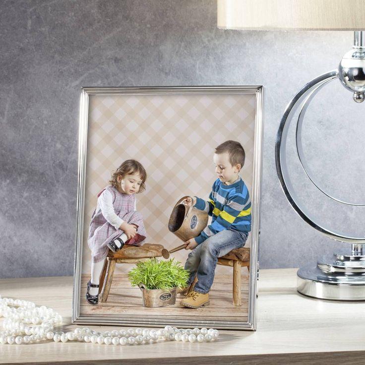 #ramka #photo #picture #frames #family #decoration #home #dekoracje , photoRamka Alice 21x1,5x26cm silver, 21x1,5x26cm - Dekoria
