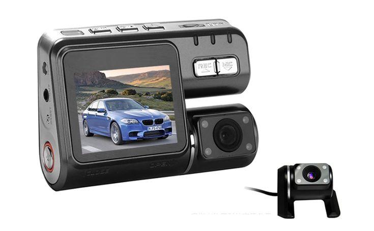 Camera Video Auto Dubla Allwinner F20 NightVision, la doar 248 RON in loc de 496 RON  Vezi mai multe detalii pe Teamdeals.ro: Camera Video Auto Dubla Allwinner F20 NightVision, la doar 248 RON in loc de 496 RON