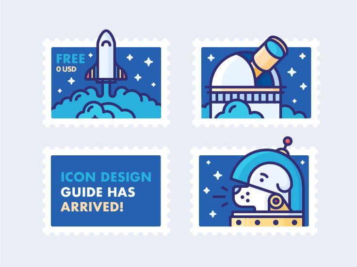 Icon Design Guide has Arrived! by Justas Galaburda