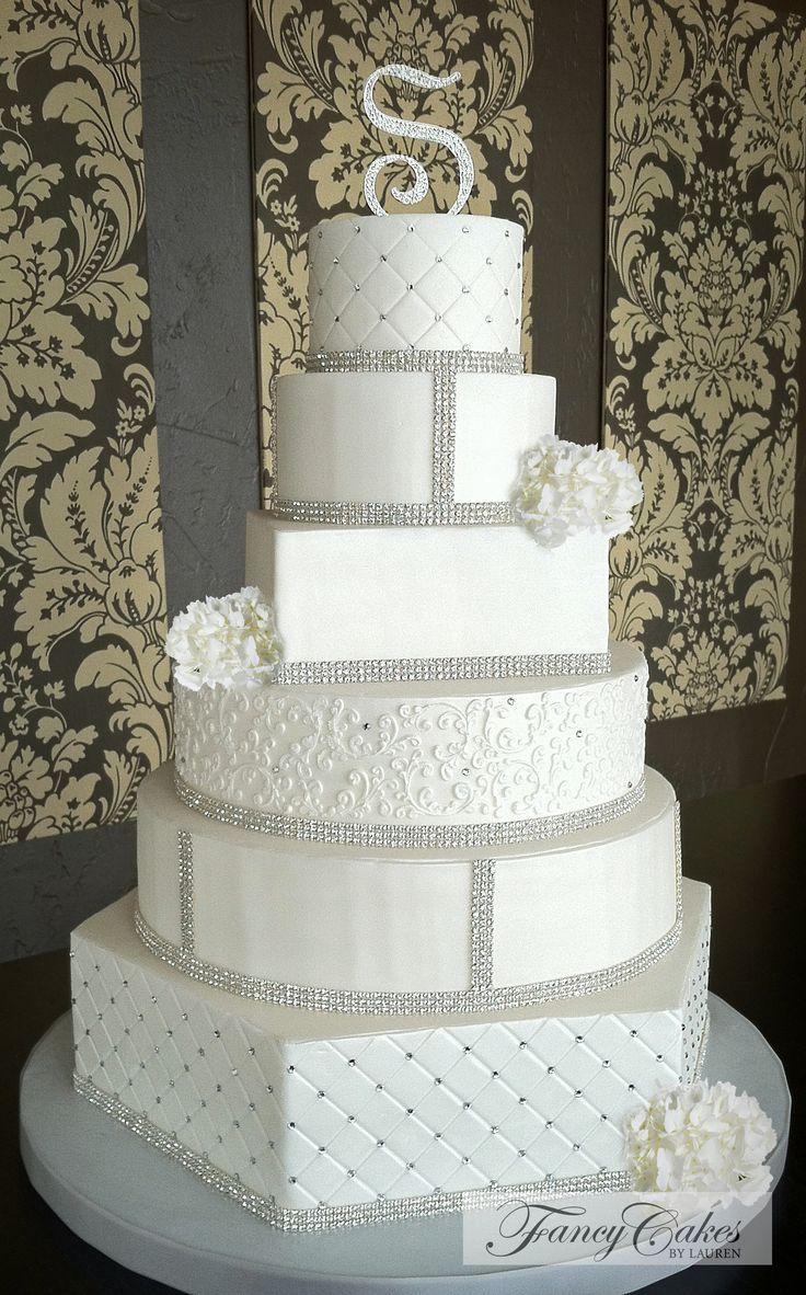 Multi dimensional wedding cake