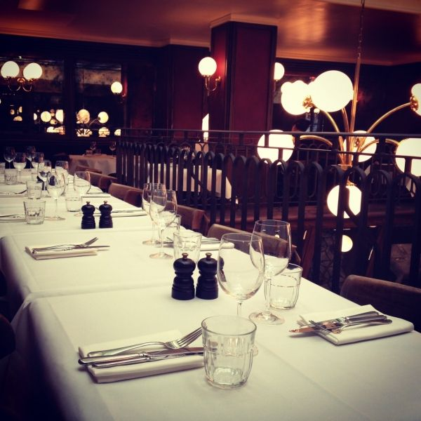 Les Deux Salons - one of my favourite restaurants in London.