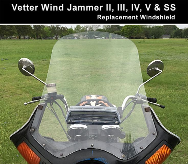 Cee Baileys - Vetter Wind Jammer II, III, IV, V and SS Windshield